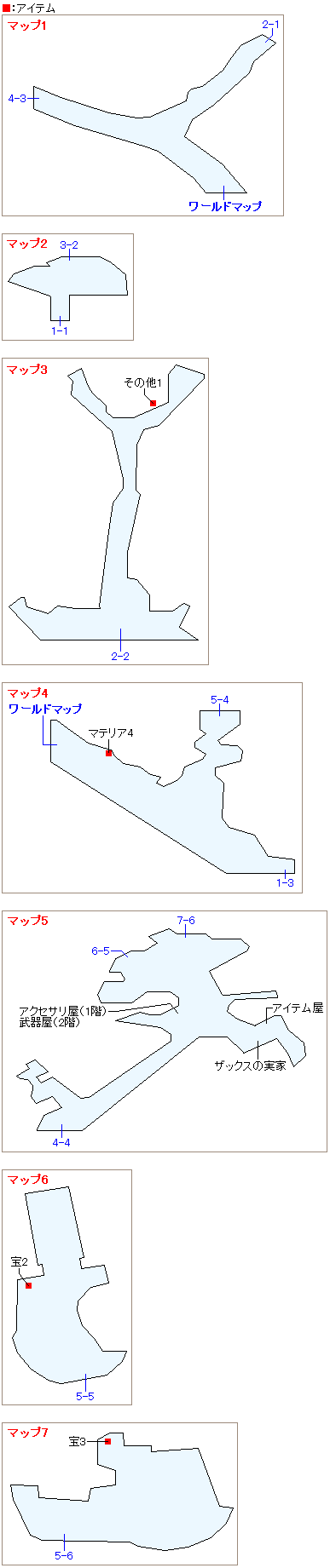 ゴンガガのマップ