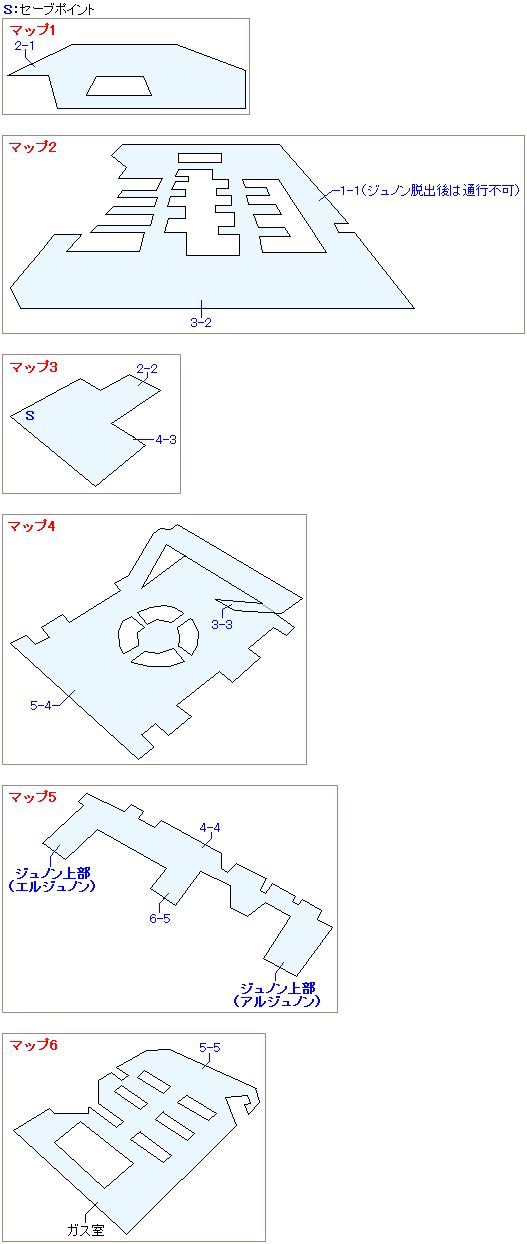 ジュノン支社のマップ