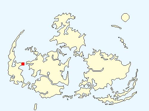 マテリアの洞窟(ウータイエリア)の場所