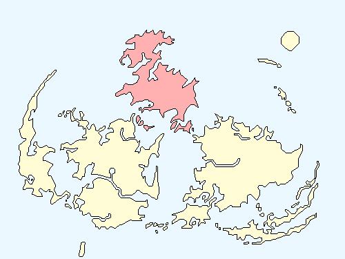 アイシクルエリアのワールドマップ上での範囲