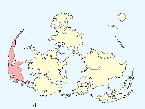 ウータイエリアのワールドマップ上での範囲