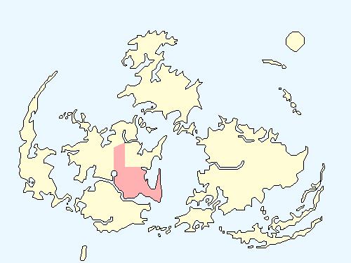 ゴールドソーサーエリアのワールドマップ上での範囲