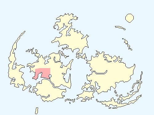 ニブルエリアのワールドマップ上での範囲