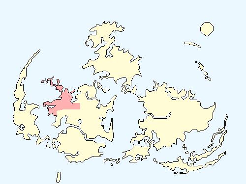 ロケットポートエリアのワールドマップ上での範囲