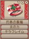 灼熱の腕輪(エーテル値100)