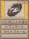 ウロボロスの護印A(エーテル値100)