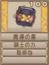 魔導の書(エーテル値100)