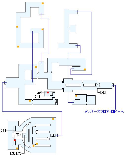 ニイジマ・パレス スロットルームの攻略マップ