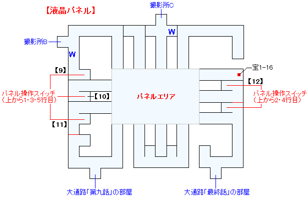 幻想ダイバースタジオマップ画像(4)