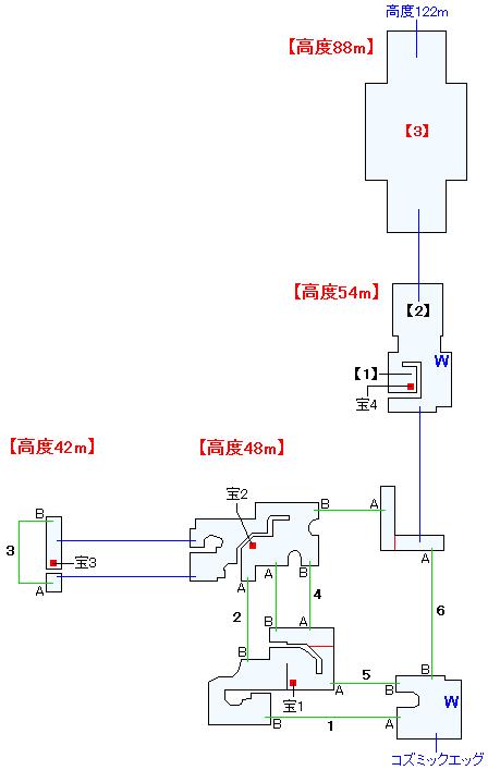 幻想ドルーアマップ画像(1)