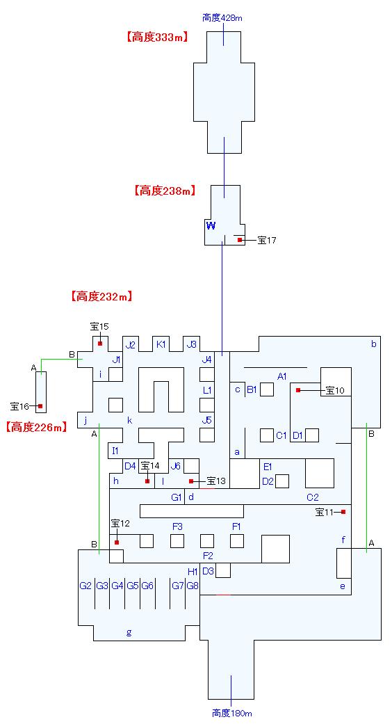 マップ画像・幻想ドルーア(高度226~333m)