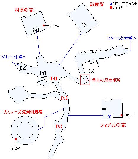 スタール村マップ画像