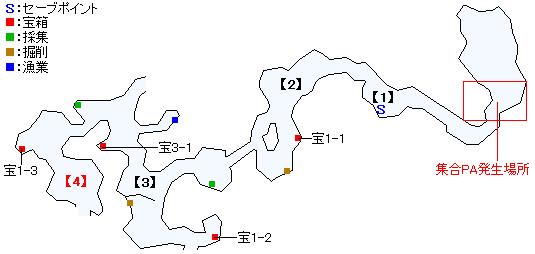 エイヒッド山脈・ノースソーマ地方マップ画像