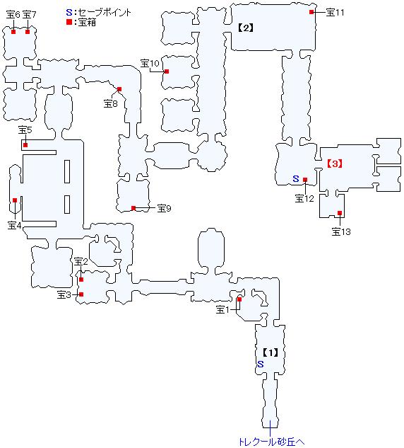 謎の研究施設マップ画像