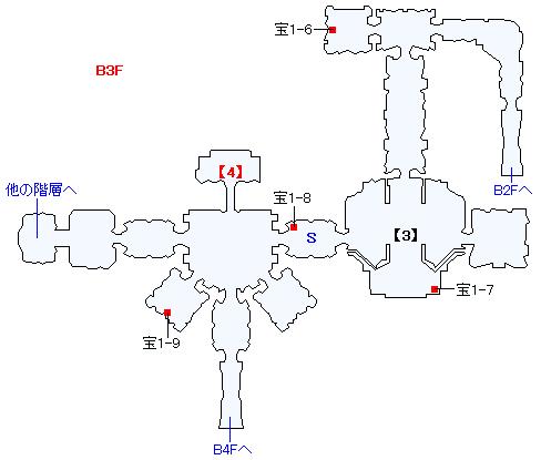クロノス中央紋章研究所マップ画像(3)