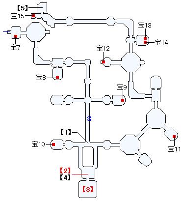 """クロノス艦""""カヴァレイロ""""マップ画像(2)"""