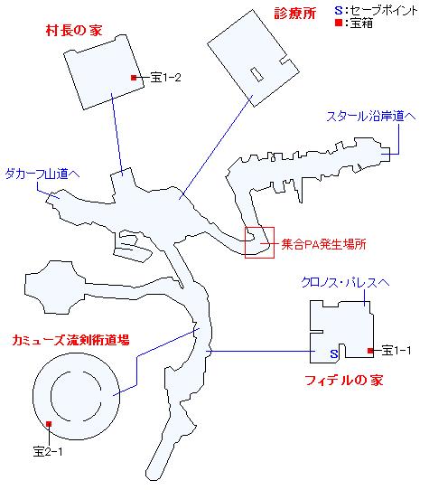 スタール村マップ