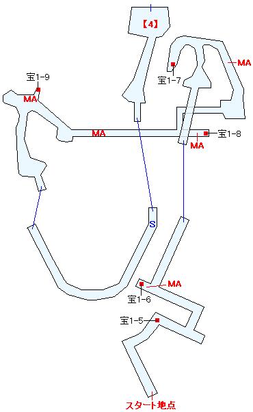 ザオ遺跡マップ画像(3)