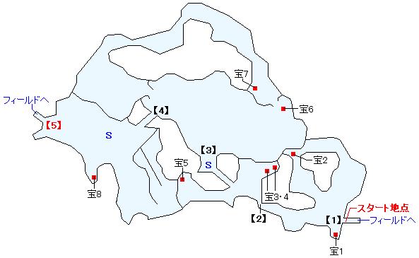 イニスタ湿原マップ画像