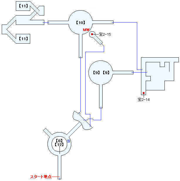 タタル渓谷マップ画像(3)