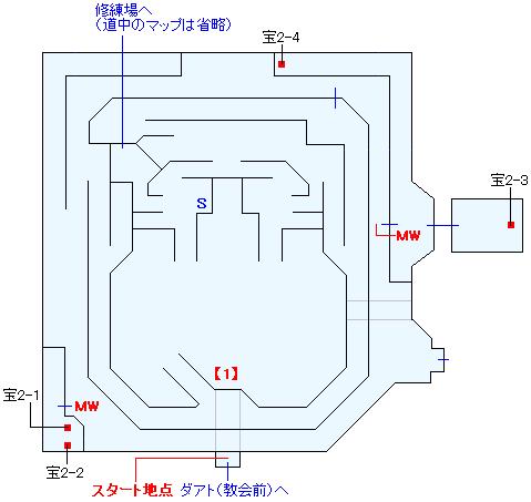 神託の盾本部マップ画像