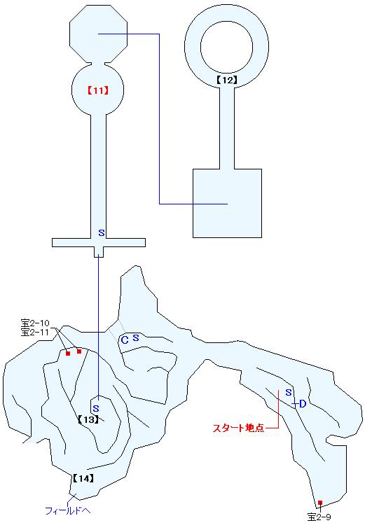 メジオラ高原マップ画像(6)