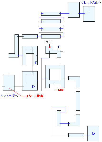 ダアト教会マップ画像