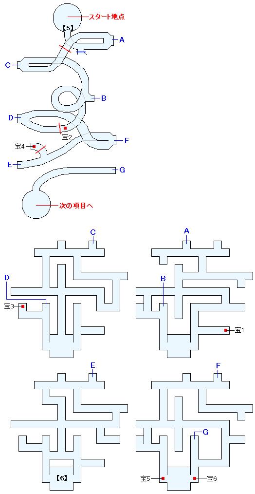 アブソーブゲートマップ画像(2)