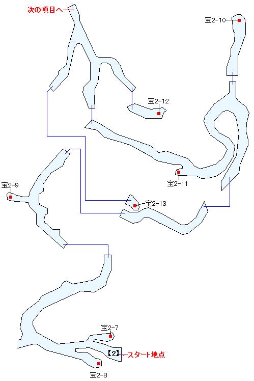 ザレッホ火山マップ画像(2)