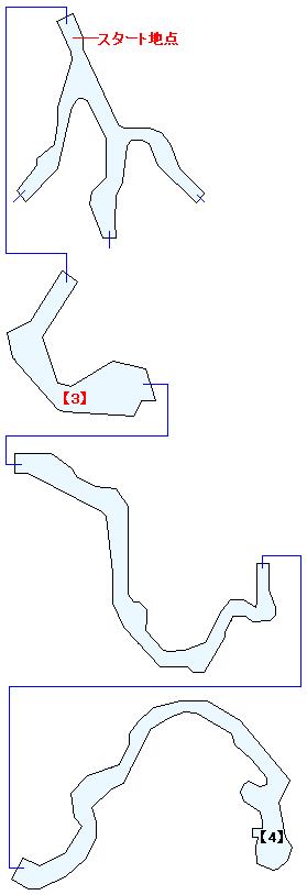 ザレッホ火山マップ画像(3)