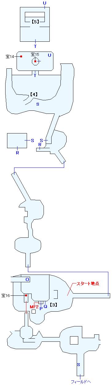 フェレス島廃墟群マップ画像(3)