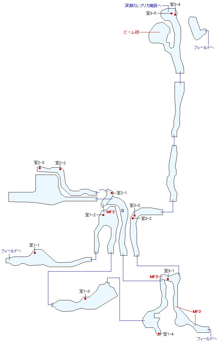 ワイヨン鏡窟マップ