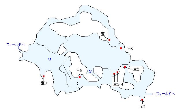 イニスタ湿原マップ