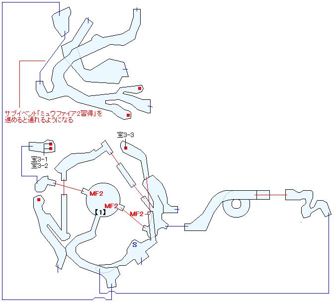 ザレッホ火山マップ画像