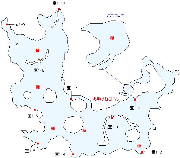 天への階梯 三の間マップ画像(4)