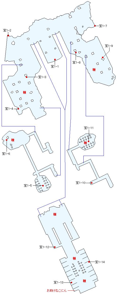 天への階梯 六の間マップ画像(4)