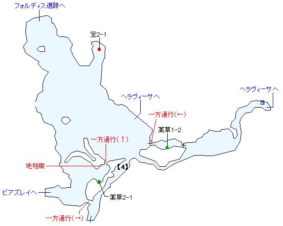 氷雪舞う フィガル雪原・マップ(3)