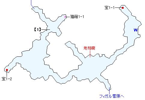 ハドロウ沼窟マップ画像(1)