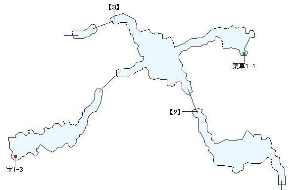 ハドロウ沼窟マップ画像(2)
