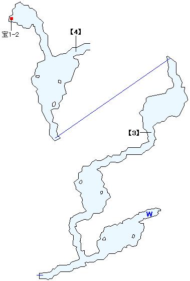 西ラバン洞穴マップ画像(2)
