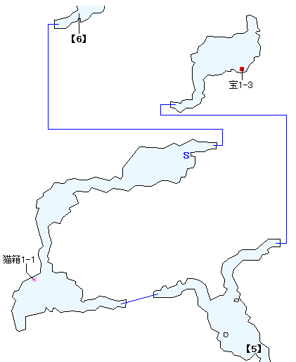 西ラバン洞穴マップ画像(4)