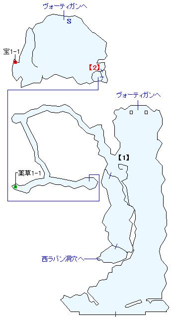 ブルナーク台地マップ画像