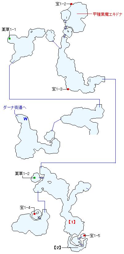 ガリス湖道マップ画像(2)