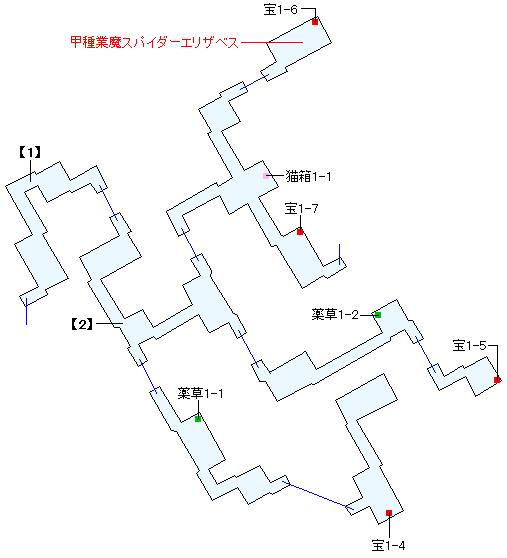 イボルク遺跡マップ画像(2)