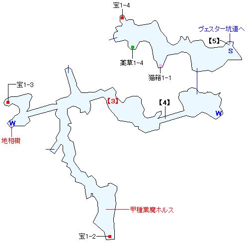 ブリギット渓谷マップ画像(2)