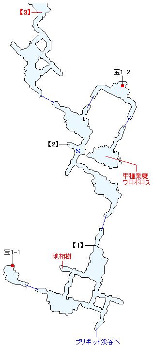 ヴェスター坑道マップ画像(1)