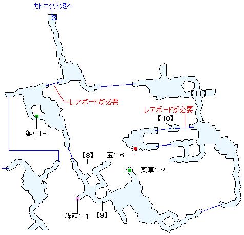 ヴェスター坑道マップ画像(3)