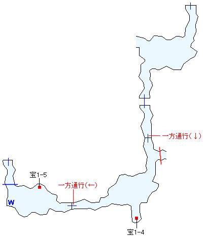 ワァーグ樹林マップ画像(4)