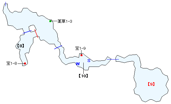 ワァーグ樹林マップ画像(6)