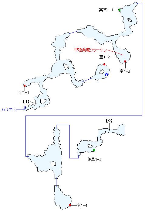 マーナン海礁マップ画像(1)
